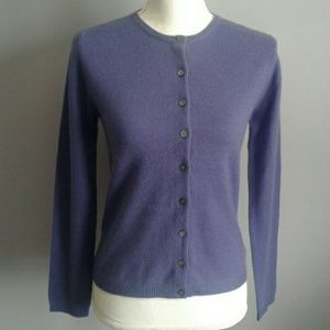 Vtg Lord & Taylor Cashmere Cardigan